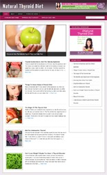 Product picture Thyroid Diet Blog