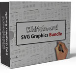 Product picture Whiteboard SVG Graphics Bundle
