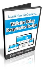 Product picture How to Set Up a Web Site Using Responsive Design