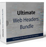 Product picture Ultimate Web Headers Bundle