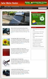 Product picture Solar Water Heater Blog